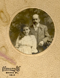 Richard and Bertha Weidenbach, 1891